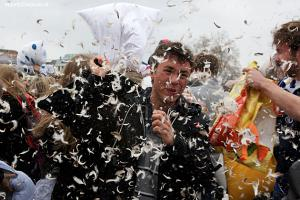 International Pillow Fight Day Geneva